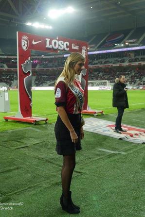 Les z'awards de la télé / Camille au match  Lille/Lorient