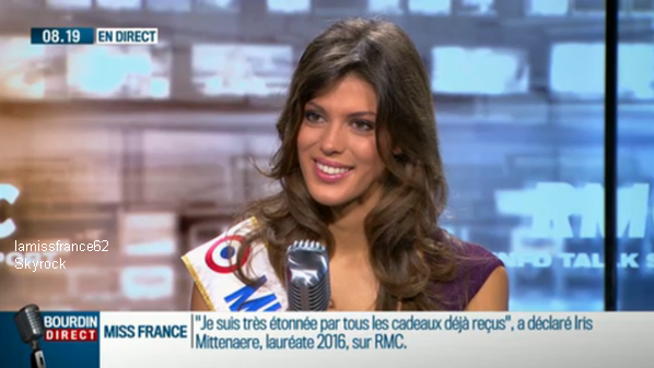 Iris en  interview avec France 3 Nord Pas De Calais / Iris en direct sur RMC / Iris en interview sur LCI