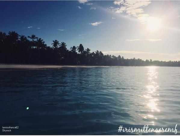 Premier jour dans les Caraïbes pour Iris
