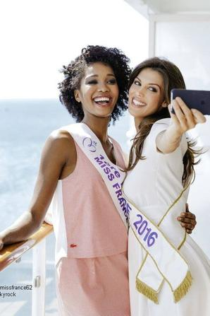 Iris et Camille dans les coulisses de la croisière glamour  au  Caraïbes