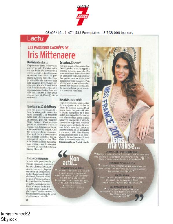 Iris sur sud radio avec Malika Menard / Iris dans la presse