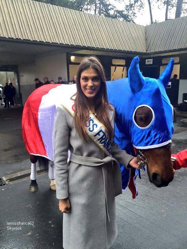Iris au Grand Prix de France à Vincennes