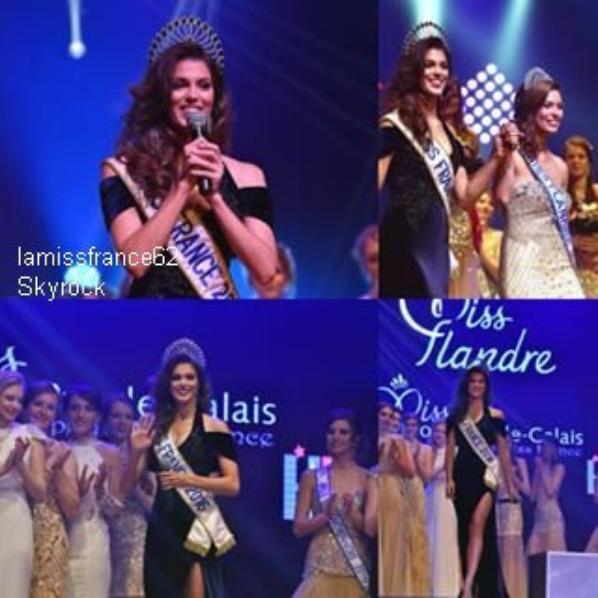 Laurine Maricau a été élue Miss Flandre 2016