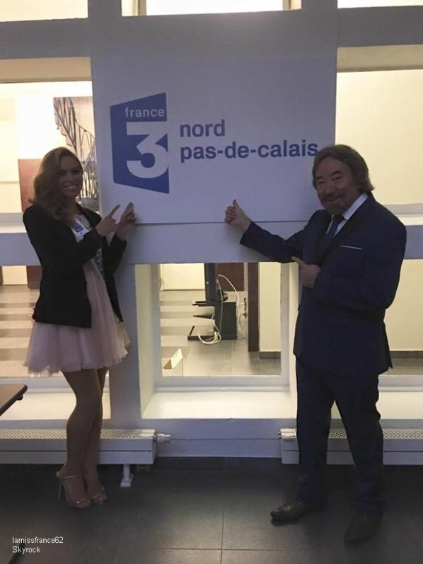 Laurine Maricau  sur le JT FRANCE 3 -Iris avec Snapchat -  Iris avec Corine de Farme