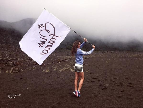 Dernier jour  à la Réunion pour Iris avec les Miss
