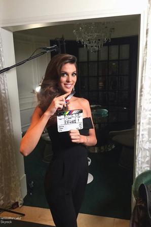 2 ème jours r de tournage vec les équipes de Miss Univers
