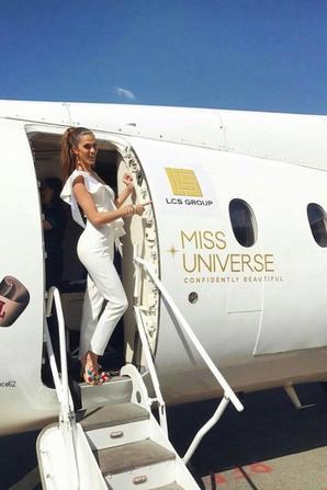 Iris pour Miss Univers