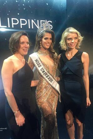 Iris élue Miss Univers