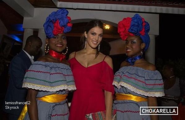Iris  arrivée à Haïti hier soir