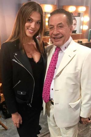 Iris à  rencontrer M.Hollande à l'Elysée