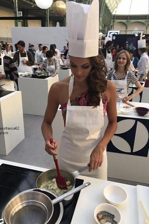 Iris  l' atelier de cuisine à l'espace Secrets des Chefs à Paris  : La suite