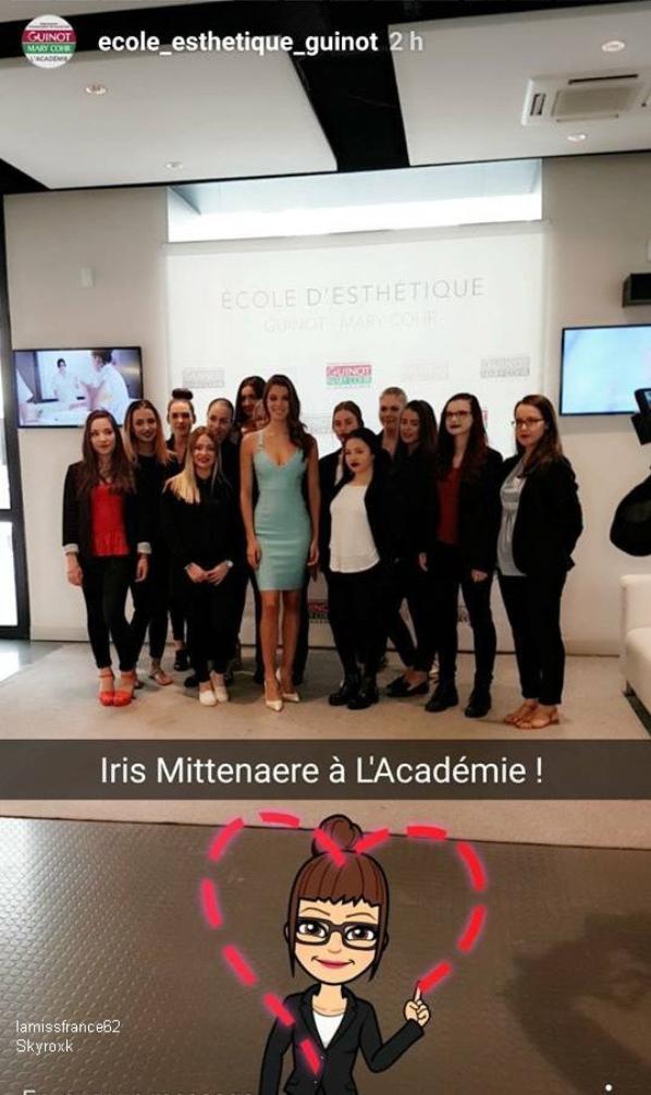 Iris s'est rendue à l'école d'esthétique Guinot-Mary Corh à Paris