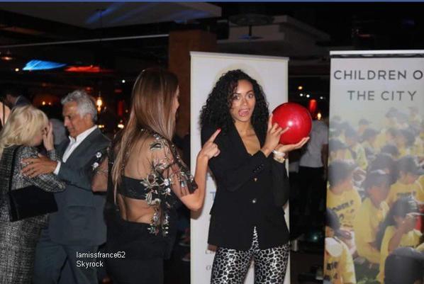 Iris était présente au Charity Bow  évènement organisé au profit de l'organisation Children of the City