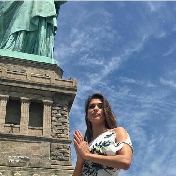 Iris aujourd'hui pour sa première visite à Liberty Island et Ellis Island : La suite