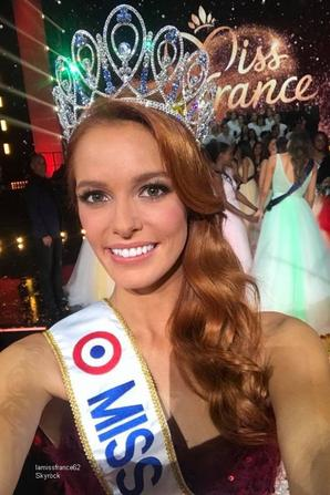Maêva Couke élue Miss France 2018