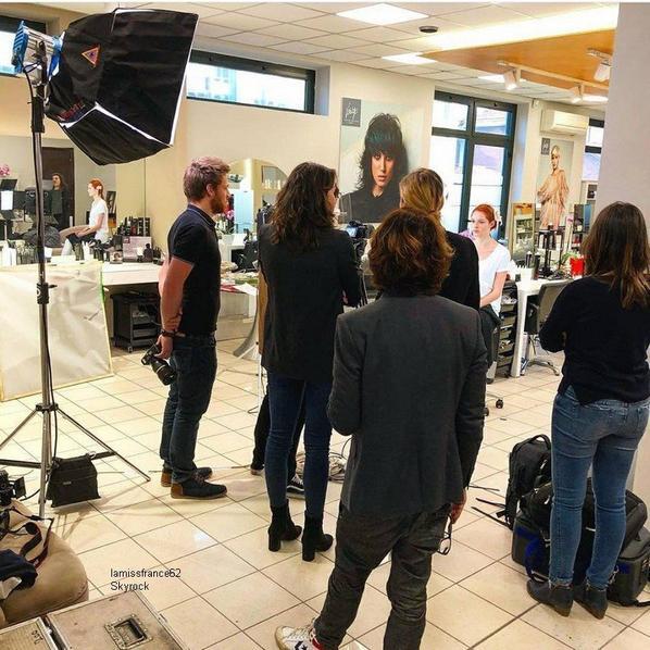 Maeva est à Turin pour la marque Vitality's