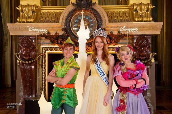 Maëva était invitée à une soirée Disney à l'opéra Garnier