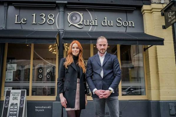 """Mardi Maeva s est rendu au """"Le 138 Quai du Son"""" A Lille le 6 Mars 2018"""
