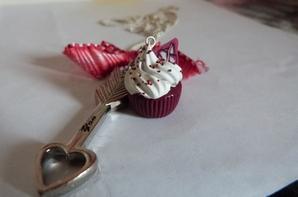 Sautoir Cupcake Love
