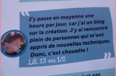"""Actu créatif - Bijoux & Apparition dans """"Julie"""""""