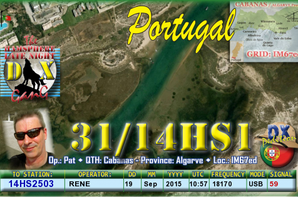 QSL COMF + RADIO INTERNATIONAL HS INDEPANDANTE