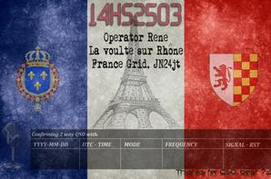 VOICI MES QSL PERSO