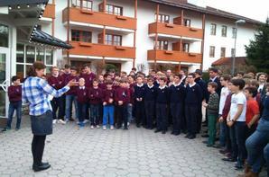 Les Petits chanteurs en Allemagne pour le Knabenchor-Festival Badtölz