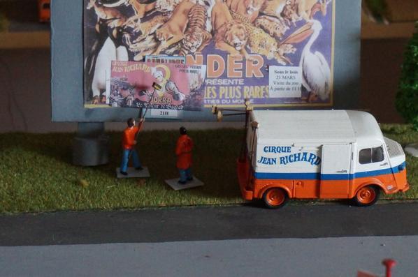 Les belles affiches du cirque Jean Richard en 1972 :