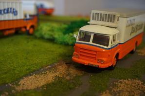 Camion frigorifique réserve de viandes