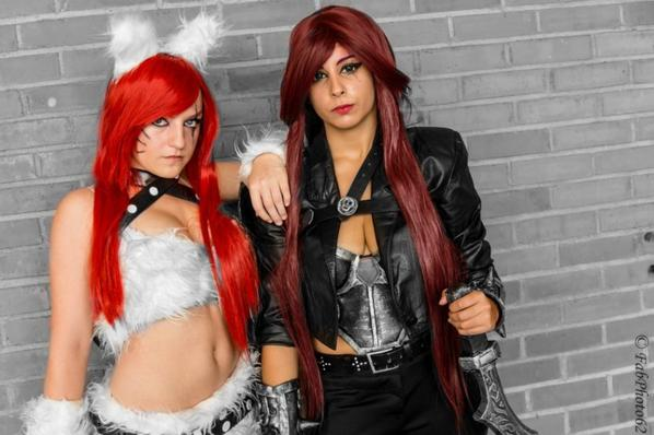 Cosplay kitty cat katarina ! :p