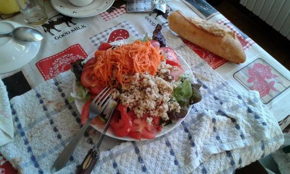 Salade de la MORT encore aujourd'huit  !