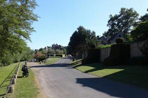 Et passage au retour par un des plus beau village de FRANCE  !!
