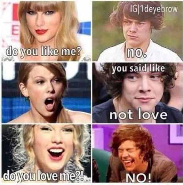 Lol Taylor swift