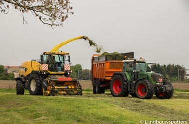 Gras hakselen 2014 met Verplancke