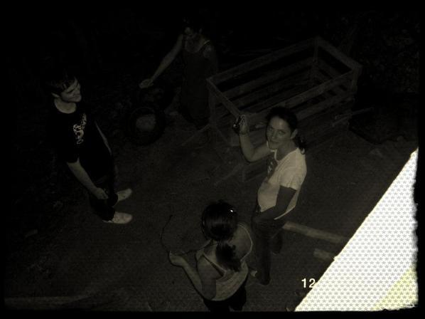 Enquête numéro 7 : (Paul, X, Fabienne, Laura)  visite d'une petite mazure