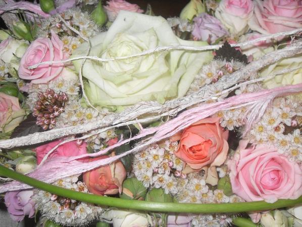 Atelier chez Françoise vandoninck: Roses et pastels