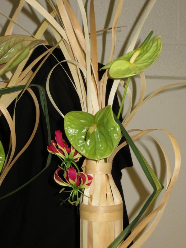 atelier chez Passion de l'art floral 5 octobre