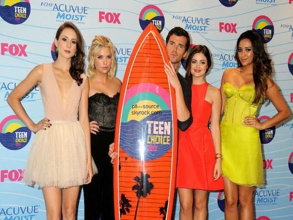 Le Cast At TCA 2012