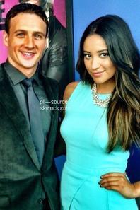 Shay Mitchell On Air with Ryan Seacrest