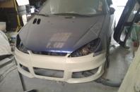 Ma voiture en préparation