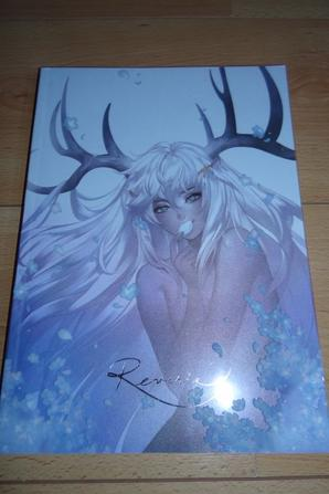 Dédicace Ein Lee - Art book Reverie