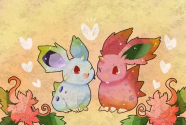 Couples de Nidoran^^ <3 <3