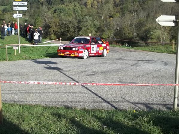 fin des photo de rallye des bauges 2012
