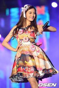    Nana lors du WAPOP Concert.