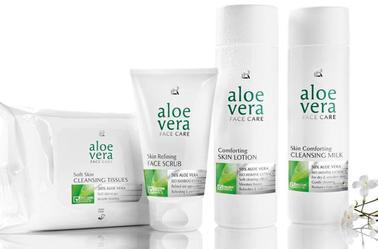 Soins cutanés à l'Aloe Vera by LR : modernité, compétence et performance.