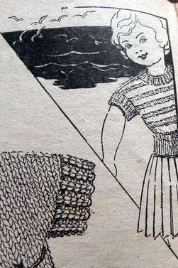 tuto tricot pull poupée 38 cm