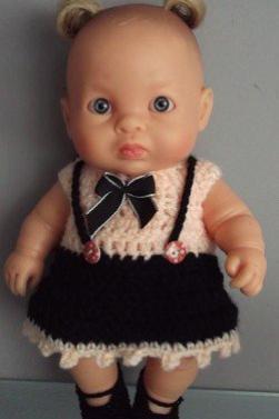 tuto crochet : habits poupées