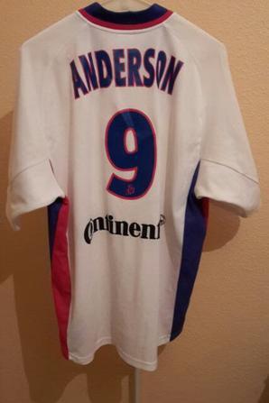 "Maillot 2001-2002 de Anderson da Silva dit ""Sonny ANDERSON"""