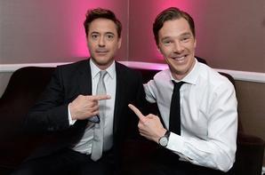 Sherlock et Holmes aux PGA Awards 2014