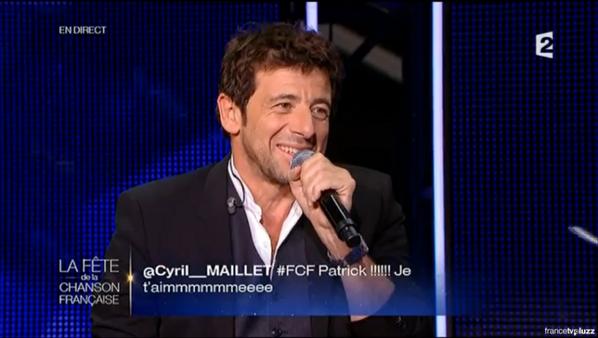 Tweet's - France 2 - La fête de la chanson française - 21-11-2014